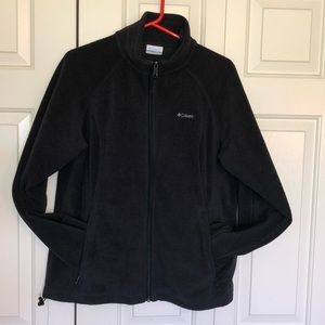 Black Columbia Fleece Zip Up